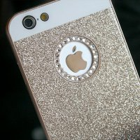Glitter Cubic Hard Case iPhone 6 iPhone 5 iPhone 5S iPhone 6 Plus iPhone casing 6 Types Phone Cases