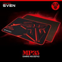 Mousepad Gaming Fantech MP35 lebar 35x25cm Speed Control