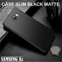 Case Slim Black Matte Samsung Galaxy A3 2016 A310 Softcase