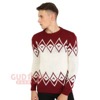 Sweater Rajut Motif Tribal - SWE 1069