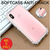 Xiaomi Redmi Note 5 Pro Case Anti Crack Softcase Back Case Anti Knock