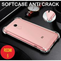 Xiaomi Redmi 5 Case Anti Crack Softcase Back Case Anti Knock Casing