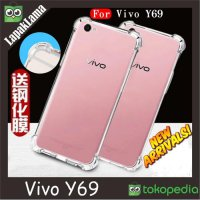 Anti Crack Vivo Y69 Case AntiCrack SoftCase Back Case Anti Knock Cover