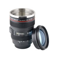 Lens Cup Mug Tumbler Stainless Steel model EF 24-105mm F4 Filter Liner