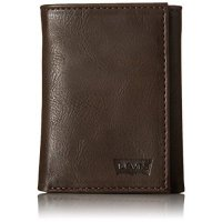 [macyskorea] Levis Mens Wallet with Knit Glove Gift Set, Brown, One Size/7525656