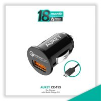 HOT PROMO!!! Aukey CC-T13 Car Charger with Quick Charge 3.0