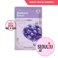 [The face shop] Natural mask - blueberry