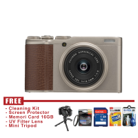 FUJIFILM XF10 - CHAMPAGNE GOLD - FREE ACCESSORIES