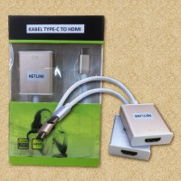 HOT PROMO!!! Kabel USB 3.1 Type-C to HDMI Female Adapter Converter Netline
