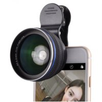 Universal Camera Mobile Phone 0.6X Super Wide Angel Plus Macro Lens Cam26-A
