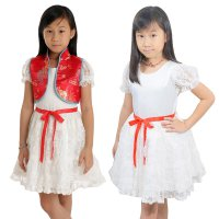 ~Cutevina~ Amour Party Cheongsam Ribbon Dress(6-12 th)