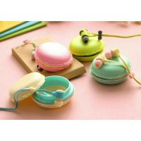 Headset Macaron Cute Fancy Macaroons Earphone Hf Handsfree Universal