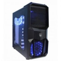 Gaming Cases GOD OF WIND ULTRA-5X15LED ULTRA FANS / No PSU - R