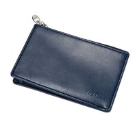 Slim Mini Wallet Cow Leather Credit Card Case Men ID Holder Car