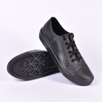 Sepatu Kets AP Star ALL BLACK by AP Boots