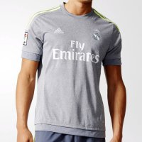 Adidas Real Madrid Men's Away Jersey 2015/16 Baju Bola ORIGINAL AA2219