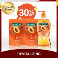 Palmolive Aromatheraphy Revitalising Shower Gel/Sabun Mandi 750ml + Palmolive Aromatheraphy Revitalising Shower Gel/Sabun Mandi 450ml - Twin Pack