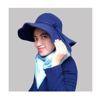 Floppy Hat - Topi Pantai - Navy