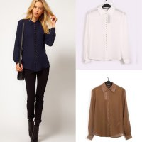 New Fashion Long Sleeve Shirt BB90226 Size S M L