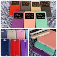 FLIP COVER UME INFINIX HOT NOTE 2 X600 LEATHER FLIP SOFT CASE INFINIX