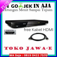#DVD Player Philips DVP3690K DVD Player HDMI USB Karaoke + Free Kabel HDMI