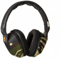 Skullcandy Crusher Headphone Cable 3.5mm With Mic (S6SCGY-366) - Camo Slate