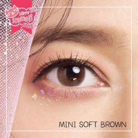 ORIGINAL Kitty Kawaii MINI SOFT BROWN softlens soflens softlense