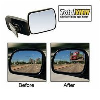 Total View Adjustable Blind Spot Mirror - Cermin Mobil As Seen on TV