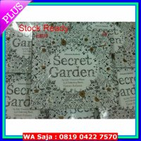 #Seni Secret Garden: Taman Rahasia Coloring Book for Adults
