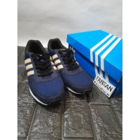 Sepatu ADIDAS Neo City Racer Navy Tan Original Indonesia