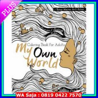 Buku My Own World: Coloring Book for Adults