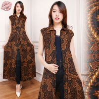 SB Collection Gamis Maxi Dress Alvina Longdress Terusan Batik Wanita