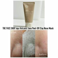 THE FACE SHOP Jeju volcanic lava peel off clay nose mask 100%ORIGINAL