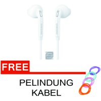 Handsfree EG920 for Samsung Galaxy Putih + Free Pelindung Kabel