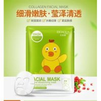 BIOAQUA ANIMAL FACIAL MASK BEBEK HIJAU ORI IMPORT