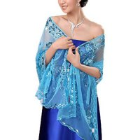 [macyskorea] Hhdress Womens Sequined Wedding Shawl Wrap Formal Evening Party Shawls Scarve/17624977