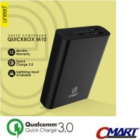 UNEED QuickBox M10 PowerBank 10.000mAh Quick Charge 3.0 - UND-UPB301