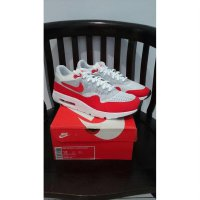 Nike Air Max 1 ULTRA FLYKNIT Original, White-Red - 843384101