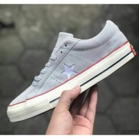 Sepatu Converse All Star One Star Undefeated Grey Premium BNIB Quality