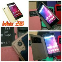 FLIP COVER INFINIX UME UMA HOT 2 X510 - LEATHER FLIP SOFT CASE INFINIX