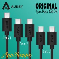 AUKEY USB Micro Cable Fast Charging CB-D5 5piece packs ORIGINAL