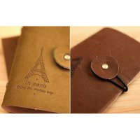 Dompet Kartu in Paris motif Menara Eiffel card holder