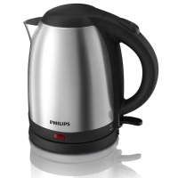 PHILIPS Kettle Listrik Stainless 1.5 Ltr HD9306 - Silver
