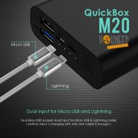 UNEED UPB302 Quickbox M20 Powerbank 20000 mAh Quick Charge 3.0