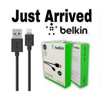KABEL iPHONE BELKIN iOS 10 1.2m USB DATA LIGHTNING - BLACK
