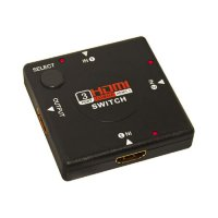 HDMI Switch Splitter 3 Port 1 Output Adapter for HDTV 1080P Switcher