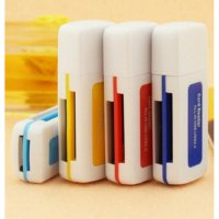 CARD READER 4 SLOT ALL IN ONE USB 2.0