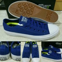 Sepatu Converse All Star Chuck Taylor 2 Lunarlon Low Blue