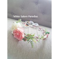[PROMO] Crown Flower / bando bunga pengapit / aksesoris pesta Type 5