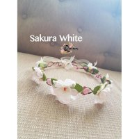 [PROMO] Crown Flower / bando bunga pengapit / aksesoris pesta Type 2